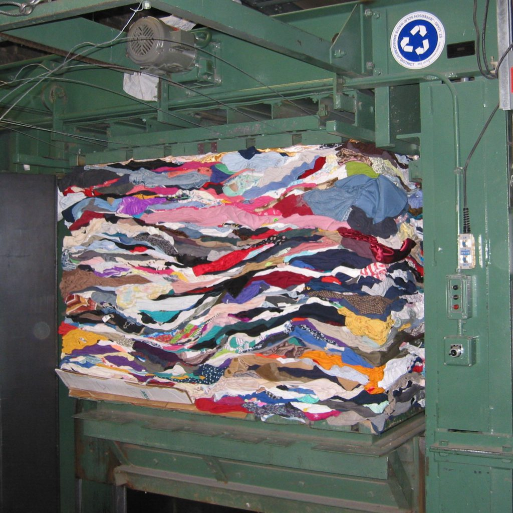 Compacting Textiles for Reuse